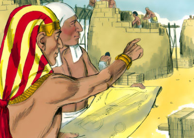 Joseph as Prime Minister of Egypt