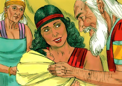 Hagar and the birth of Ismael