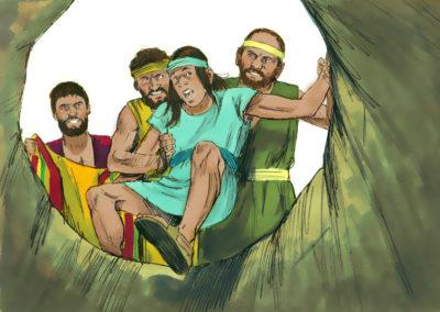 Joseph was sold into slavery