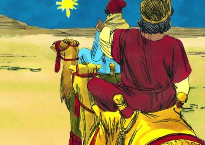Wise Men Visited Jesus (Matthew 2)