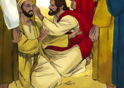 Jesus Heals A Man Who Was Borned Blind (John 9:1-41)