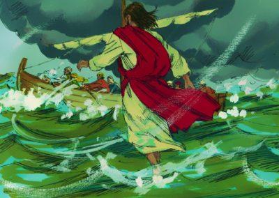 Jesus Walks On Water (Matthew 14:22-33)