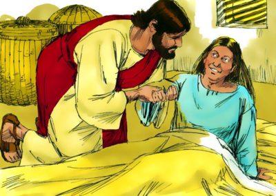 Jesus Healed All Who Were Sicked (Matthew 8:14-17)