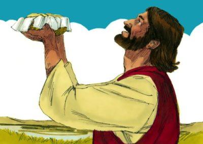 Jesus Feeds More Than 5000 People (Matthew 14:14-21)