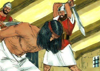John the Baptist Beheaded (Matthew 14:1-13)