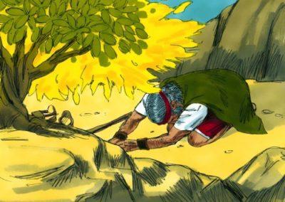 Moses and the Burning Bush (Exodus 3:1-4:20)