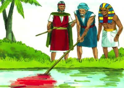 The First Plague – Water Turned to Blood (Exodus 7)