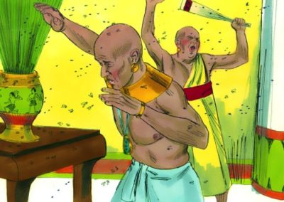 The Third Plague – Lice (Exodus 8:16-19)