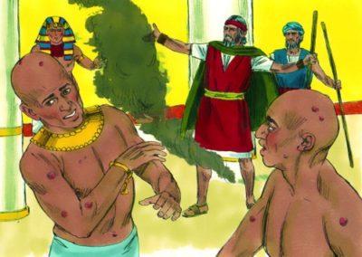 The Sixth Plague – Boils (Exodus 9:8-12)