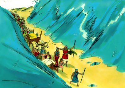 Crossing The Red Sea – Exodus 14