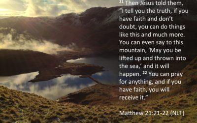 Pray with Authority!