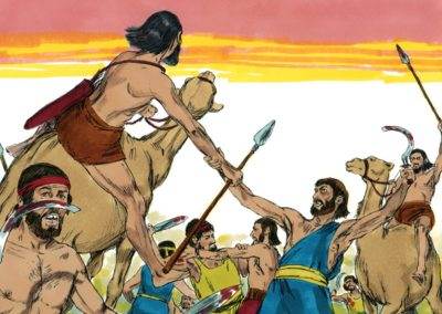 Battle with the Amalekites (Exodus 17:8-16)