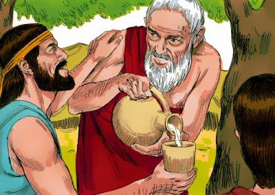 The Lord visited Abraham