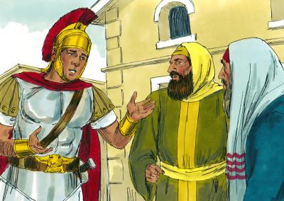Jesus Heals A Centurion's Servant (Matthew 8:5-13)