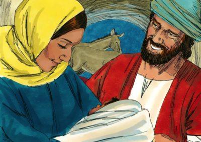 The Birth of Jesus (Matthew 1:18-24)