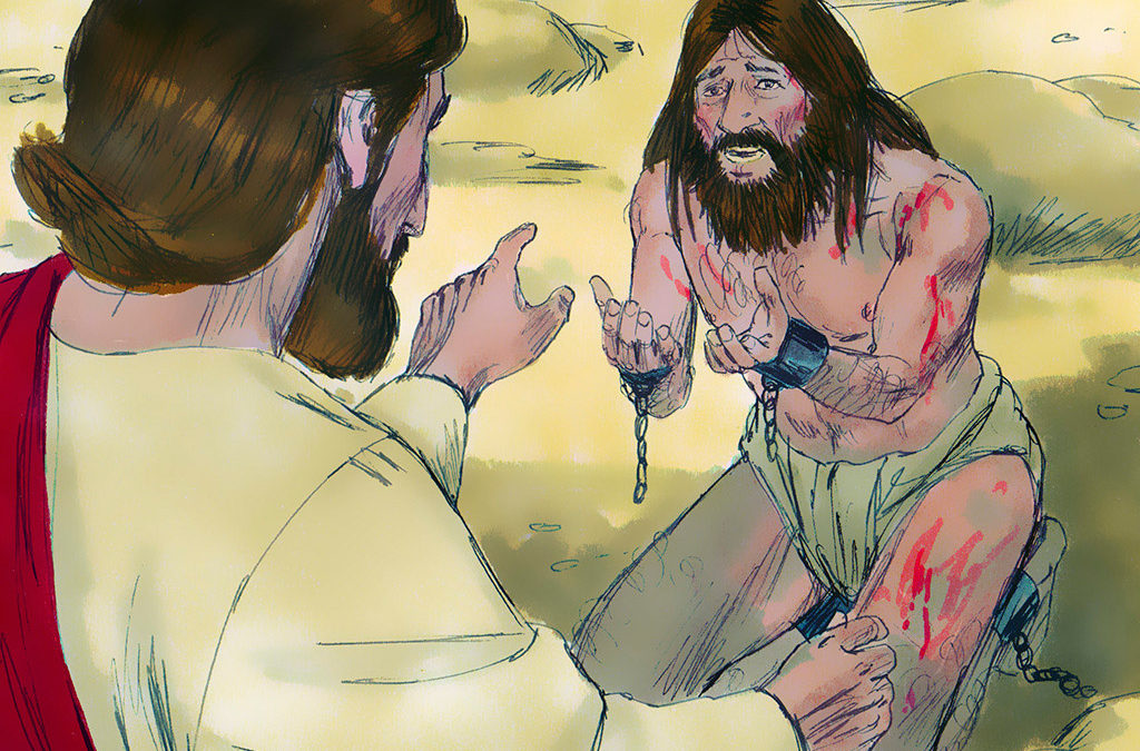 Jesus Healed A Demon Possessed Man (Mark 5:1-20)