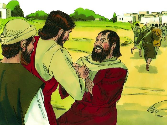 Jesus Heals Ten Men With Leprosy (Luke 17:11-19)