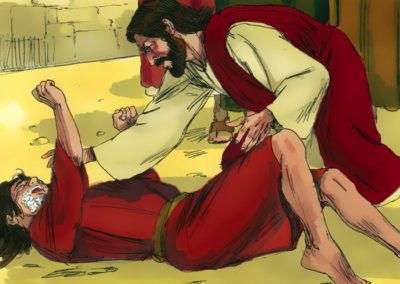 Jesus Cast Out the Demon from An Epileptic Boy (Matthew 17:14-21