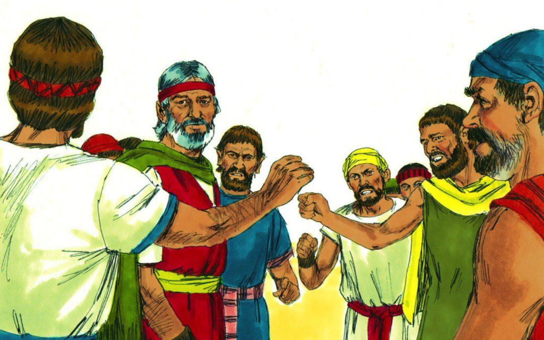 Bitter Water At Marah (Exodus 15:22-27)