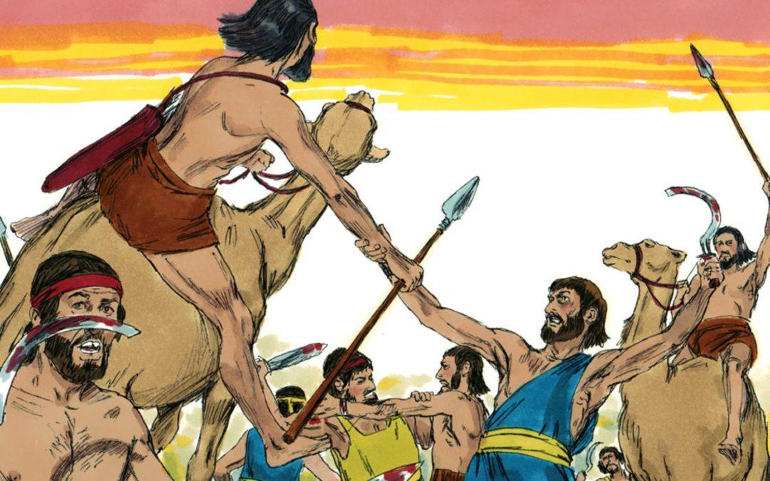 Battle with the Amalekites (Exodus 17:8-16)