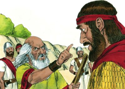 Saul Rejected  As King (1 Samuel 15:1-35)