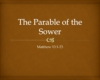 Cover-Matthew 13-1-23 Parable of the Sower _ Pnc bible reading
