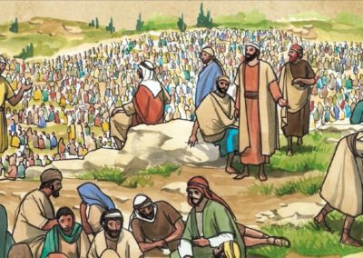 Feeding the Four Thousands- Matthew 15:29-39