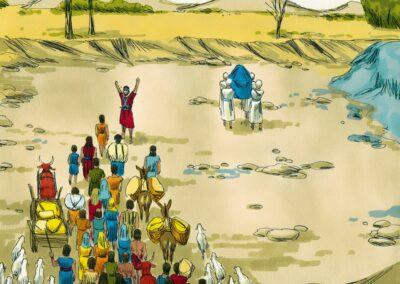 The Crossing of River Jordan – Joshua 3-4