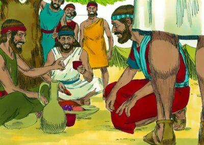 The Gibeonites Tricked Joshua
