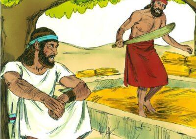 God calls Gideon the Mighty Warrior